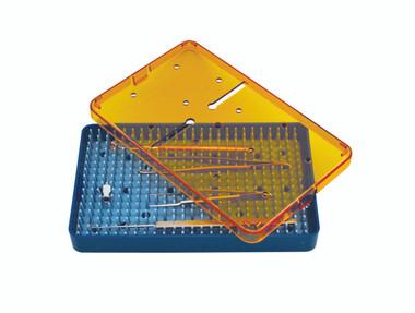 Instrument Sterilization Tray 7.5'' x 4'' x 1.5'' (CP471D1)