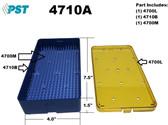 PST Micro Instrument Sterilization Tray 4.0'' x 7.5'' x 1.5''
