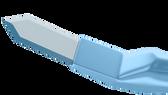 Phaco Diamond Knife, Clear Cornea Blade, 2.70 mm, Angled Titanium Handle