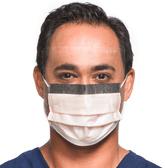Level 3 Fog-Free Procedure Mask With SO SOFT* Lining, Visor, Orange