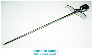 Bone Marrow Biopsy Needle With Flange