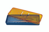 Instrument Sterilization Tray 7.5'' x 2.2'' x 0.75''