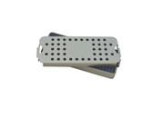 Aluminum Sterilization Tray Small ALC Size 7'' x 2'' x 0.75'' (CalTray A1100)