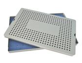 Aluminum Sterilization Tray Extra Large Single Layer 15'' x 10'' x 0.75'' (CalTray A7000)