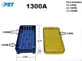 PST Micro Instrument Sterilization Tray 1.5'' x 2.7'' x 0.75'' (1300A)