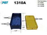 PST Micro Instrument Sterilization Tray 1.5'' x 2.7'' x 1.0'' (1310A)