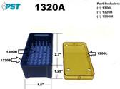 PST Micro Instrument Sterilization Tray 1.5'' x 2.7'' x 1.25'' (1320A)