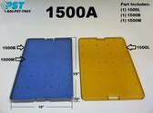 PST Micro Instrument Sterilization Tray 10.0'' x 15.00'' x 0.75'' (1500A)