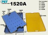 PST Micro Instrument Sterilization Tray 10.0'' x 15.00'' x 1.5'' (1520A)