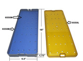 PST Micro Instrument Sterilization Tray 6.5'' x 18.0'' x 1.5'' (6552A)