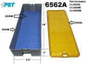 PST Micro Instrument Sterilization Tray 6.5'' x 18.0'' x 3.0'' (6562A)