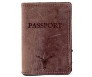 Passport Case - Dark Brown