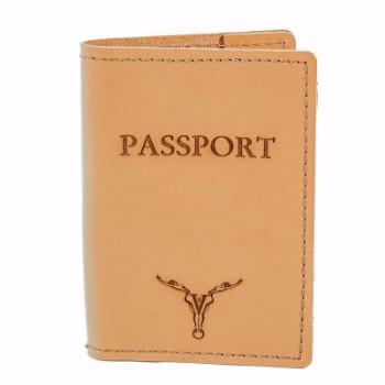 Passport Case - Buckskin