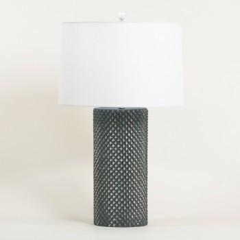 Oak Table Lamp