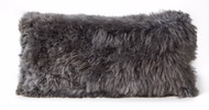 Alpaca Cushion - Grey