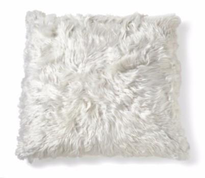 "Alpaca Cushion 20"" - Ivory"