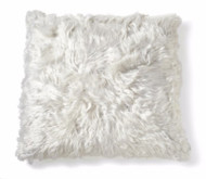 "Alpaca Cushion 20"" - Ivory"