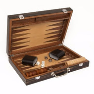 Matte Ebony Backgammon set