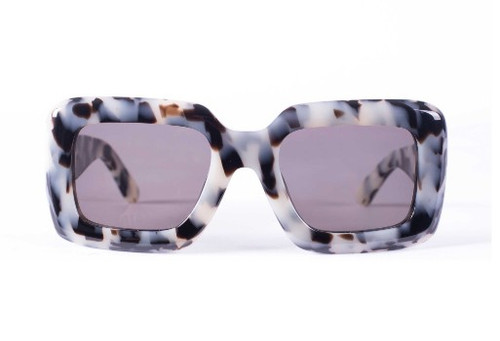 Cerebrum - Snow Leopard Tort / Black Lens
