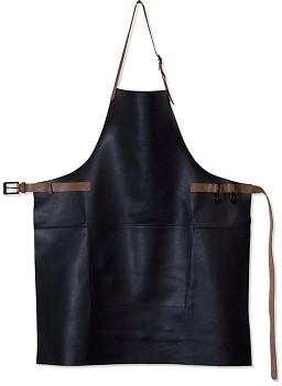 Amazing Apron - BBQ Style Black/Cognac