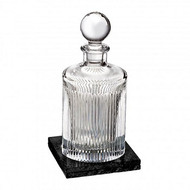 Aras Decanter Square with Marble Coaster