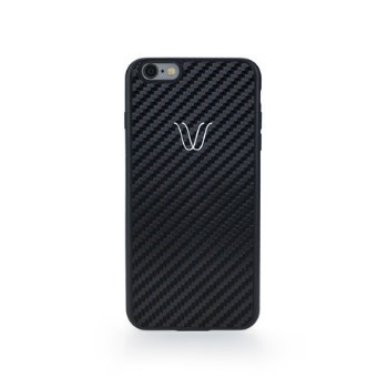 Wireless Cover | Carbon Black - iPhone 7+