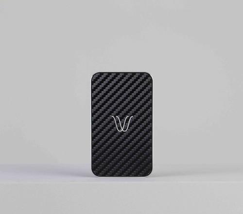 Wireless Power Bank | Carbon Look Black