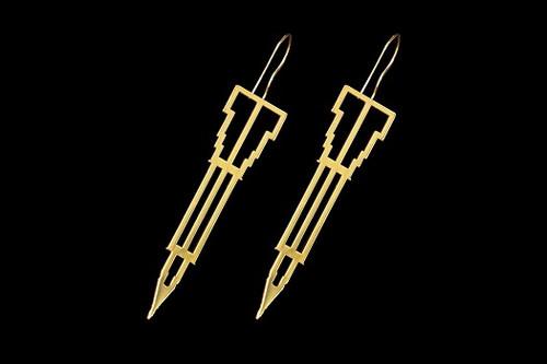 Lexington Earrings - Gold