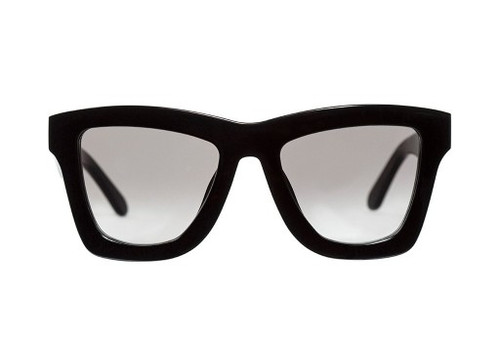 DB II - Gloss Black/Black Gradient Lens Front