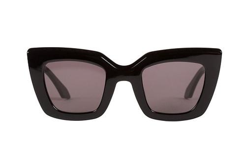Brigada - Black Zero - Gloss Black / Black Flat Lens Front