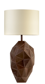 Abstract Ceramic Lamp