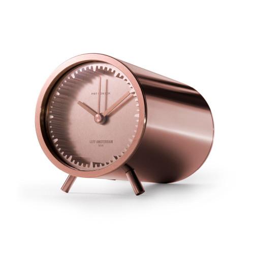 Tube Clock - Copper Side