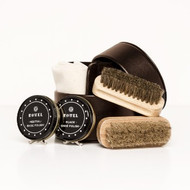 Shoe Shine Kit - Brown