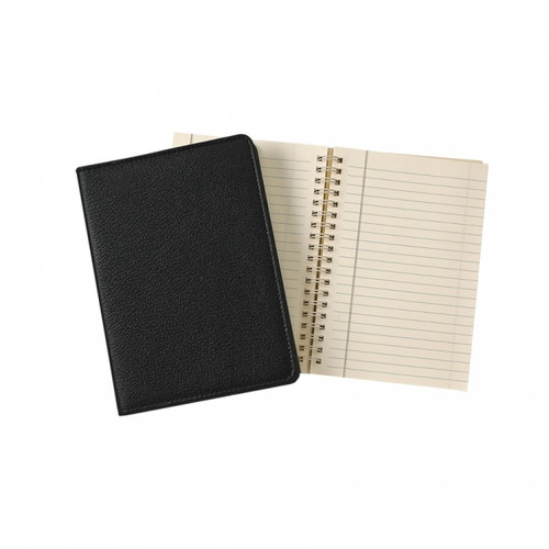 "7"" Spiral Journal - Black"