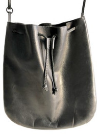 12x12 - Black Leather