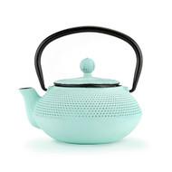 Miko Light Blue Cast Iron Teapot
