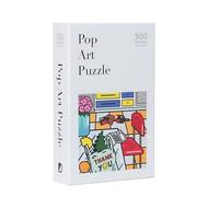 Pop Art 500-Piece Puzzle