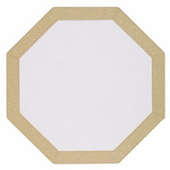 Octagon Copper Sparkle Placemat