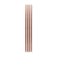 "10"" Copper Metal Straw"