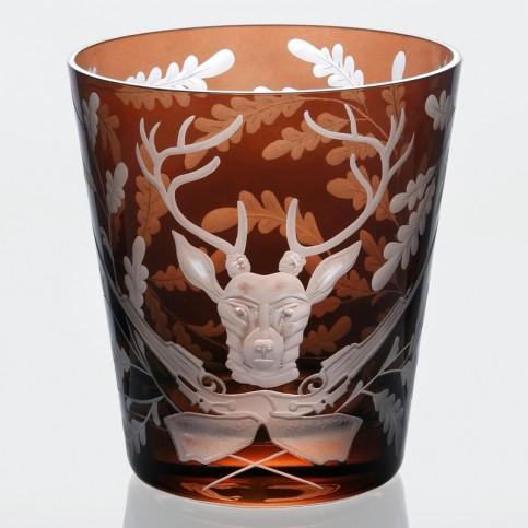 Forrest Folly Ice Bucket Stag - Mahogany