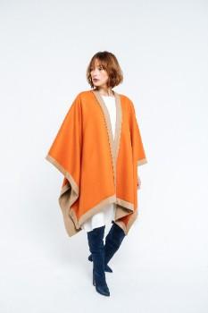 Orange Over Camel Wool