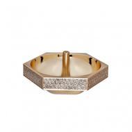 Lismore Diamond Ring Holder - Gold