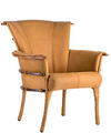 Phoenix dining chair, leather