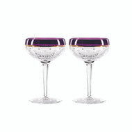 Elysian Saucer Champagne Purple