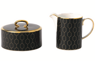 Arris Accent Cream and Sugar set