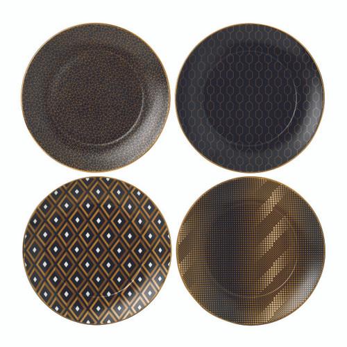 Arris Accent Tea Plate: Set of 4