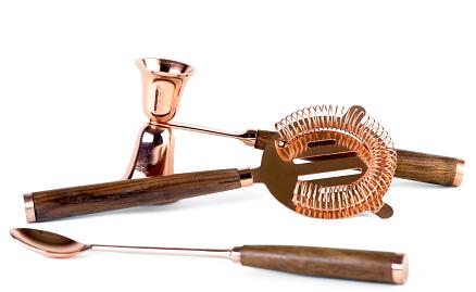 Bar set of 3 - Copper