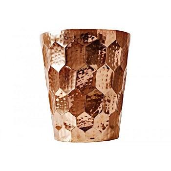 Hex Champagne Bucket  Copper