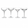 Clear Champagne Coupe, Set of 4