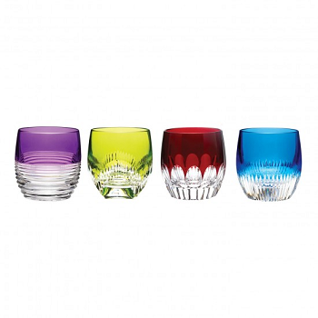 Assorted Color Tumblers - Set of 4